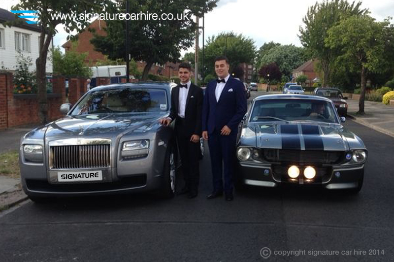 signature u2019s rolls royce ghost escorts guests to prom