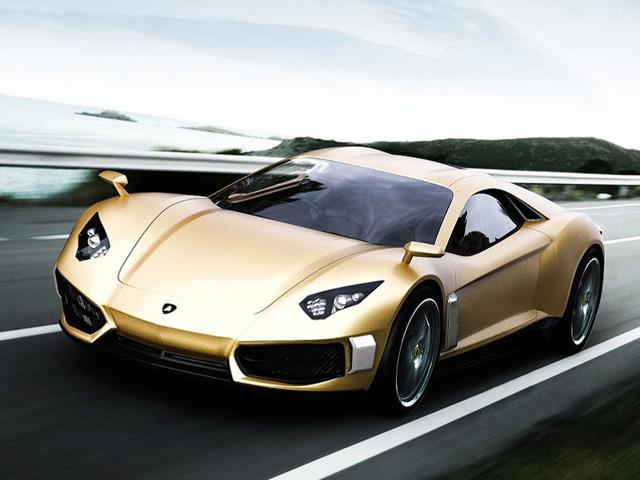 New Lamborghini Concept Front