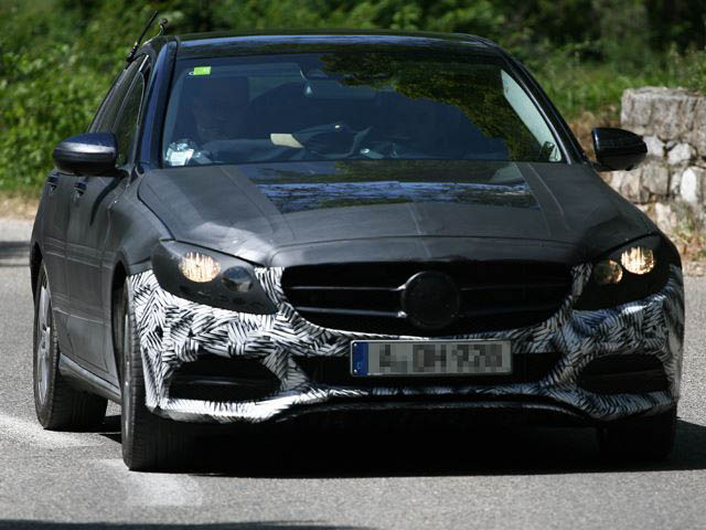 Mercedes Benz C Class Is Finally Spotted