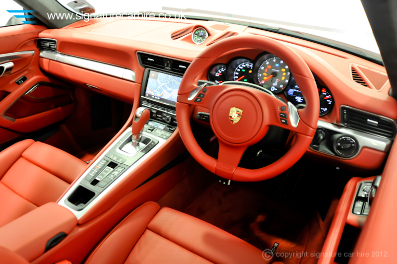 Give us a like on Facebook     You could win the chance to experience    Porsche 991 Turbo Interior