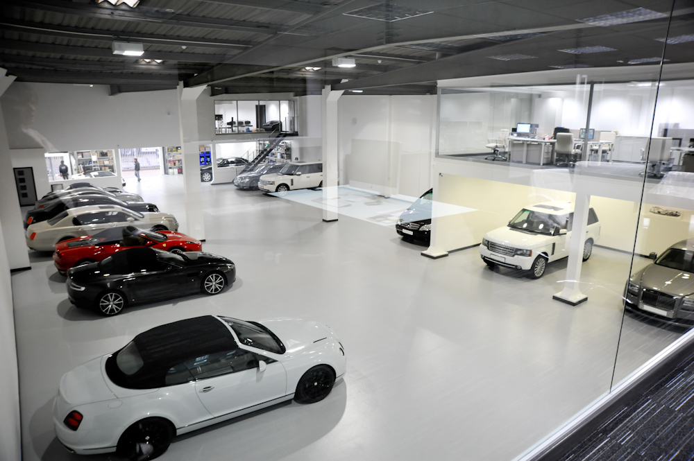 Signature Car Hires New Experience Centre