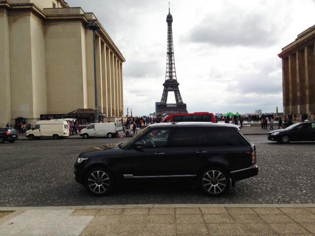 our new range rover 4 4 sdv8 vogue se in paris. Black Bedroom Furniture Sets. Home Design Ideas
