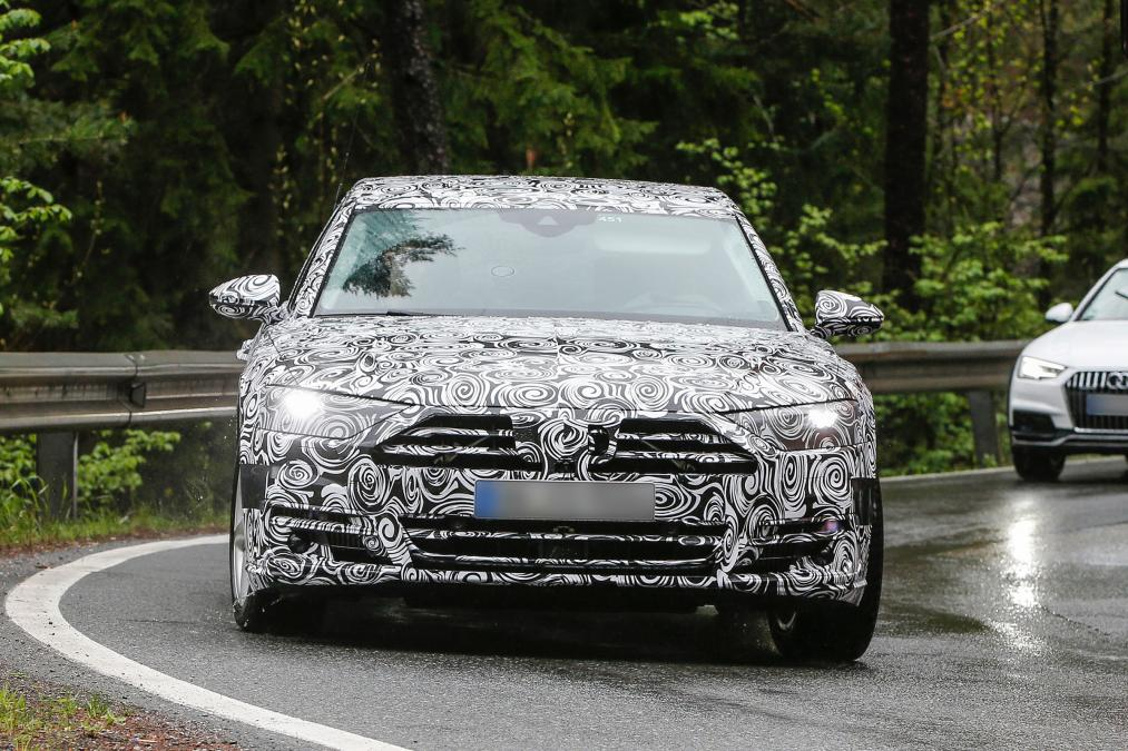 new audi a8 first production car to feature completely autonomous driving technology. Black Bedroom Furniture Sets. Home Design Ideas