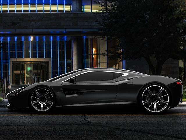 Aston Martin Dbc Concepts Side Black
