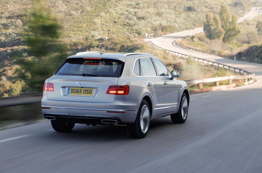 Bentley Push Back The Hybrid Bentayga