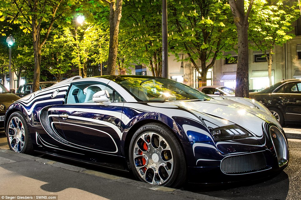 Showpiece Bugatti Spotted In The Capital Of Art And Style
