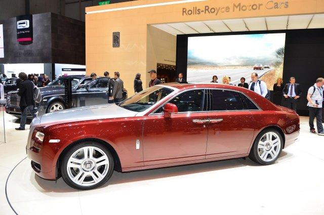 Rolls Royce Ghost Series Ii Hire >> We're seeing more Ghosts