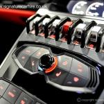 signature-car-hire-lamborghini-huracan-control-panels