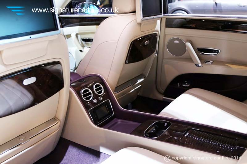 The Bentley Flying Spurs Interior