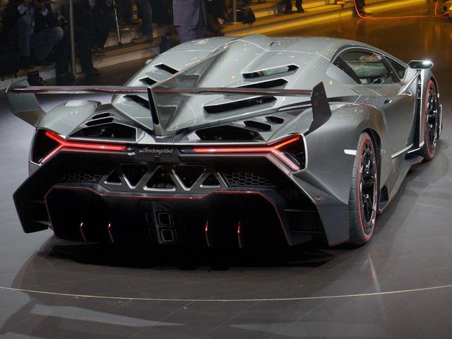 Veneno Amp Lamborghini Concept Uncovered At The Geneva Motor