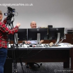 signature-car-hire-only-motors-filming-dee-bhatia-office