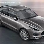 Signature-car-hire-porsche-macan-side-front