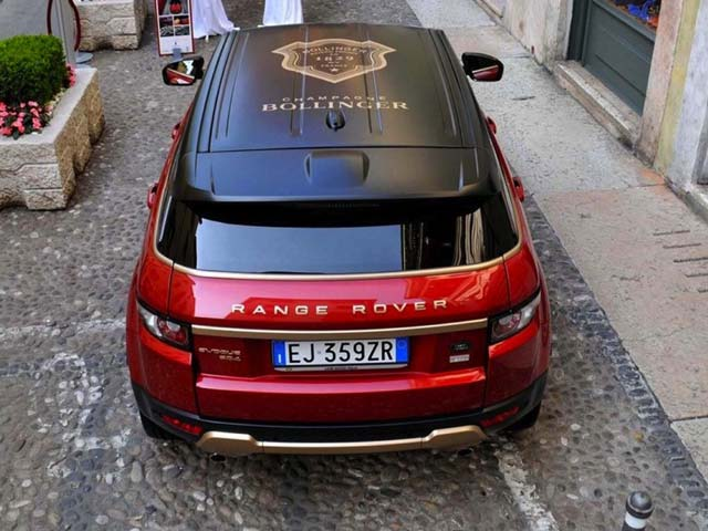 Range Rover Evoque Becomes A Special Vintage