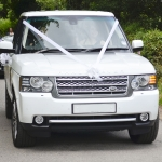 wedding car hire range rover vogue
