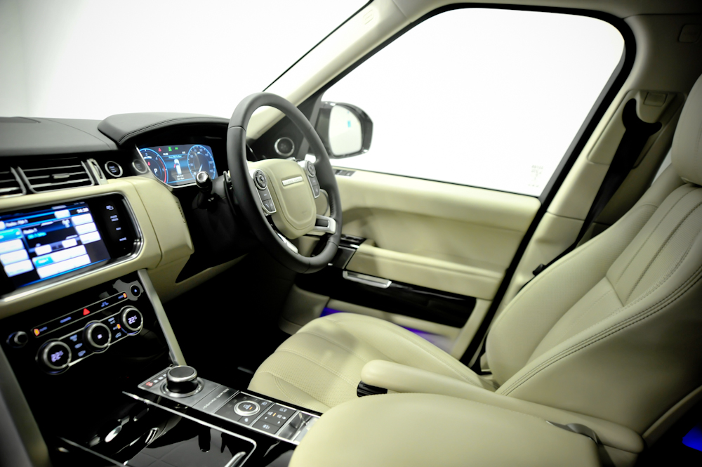 All New Range Rover Visits The Signature Experience Centre