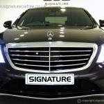signature-car-hire-mercedes-s-class-front