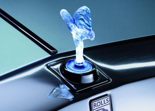 Rolls Royce And The Illuminated Spirit Of Ecstasy