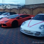 signature-car-hire-supercars-at-wedding
