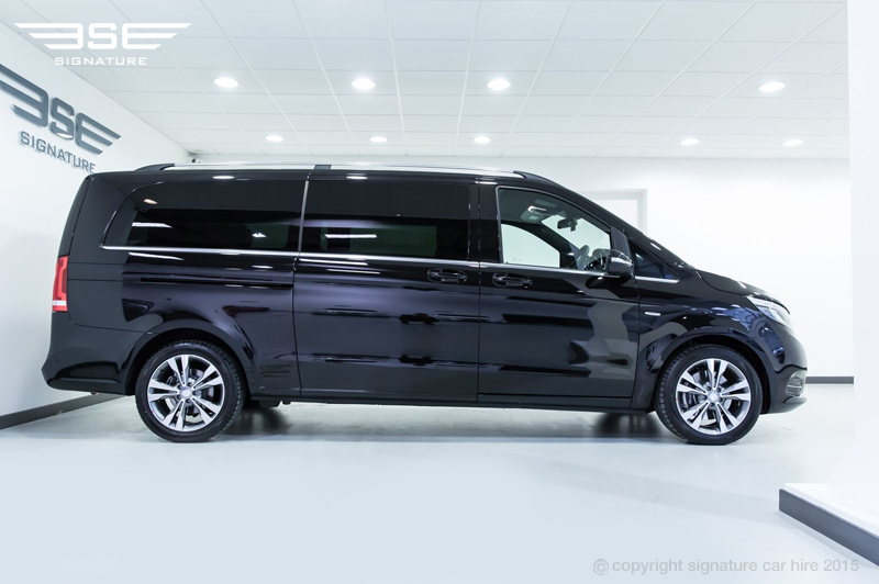 The Mercedes Benz V Class Forms The Perfect Chauffeur Car Hire