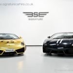 signature-car-hire-wrapped-lamborghini-gallardos-in-centre
