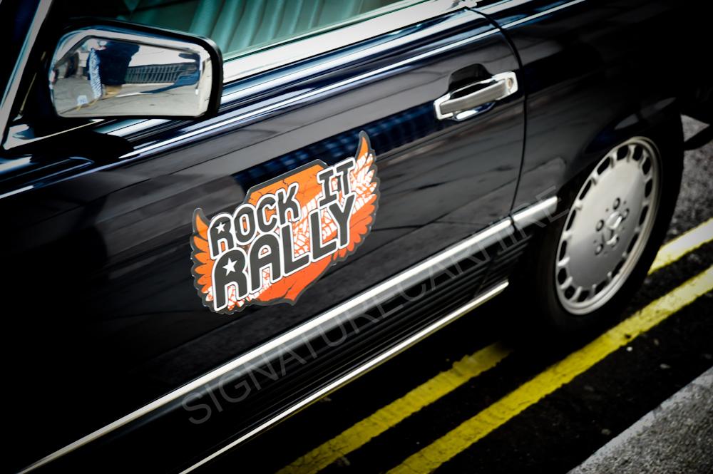 Rock It Rally Signature Car Hire