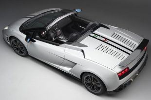 LP570-4 Performante Top View