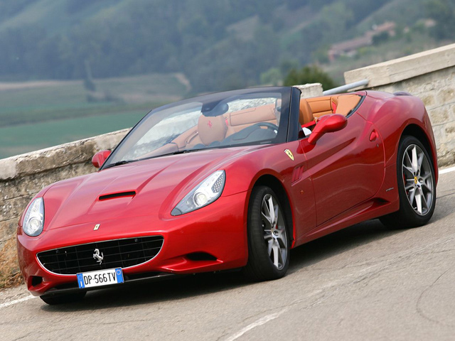 New Ferrari California Front