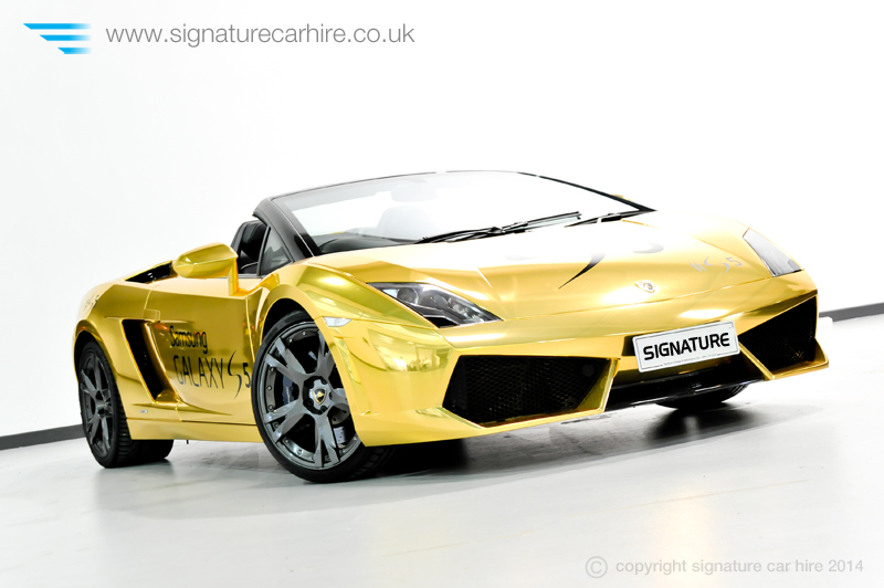 signature-car-hire-gold-wrapped-lamborghini-gallardo