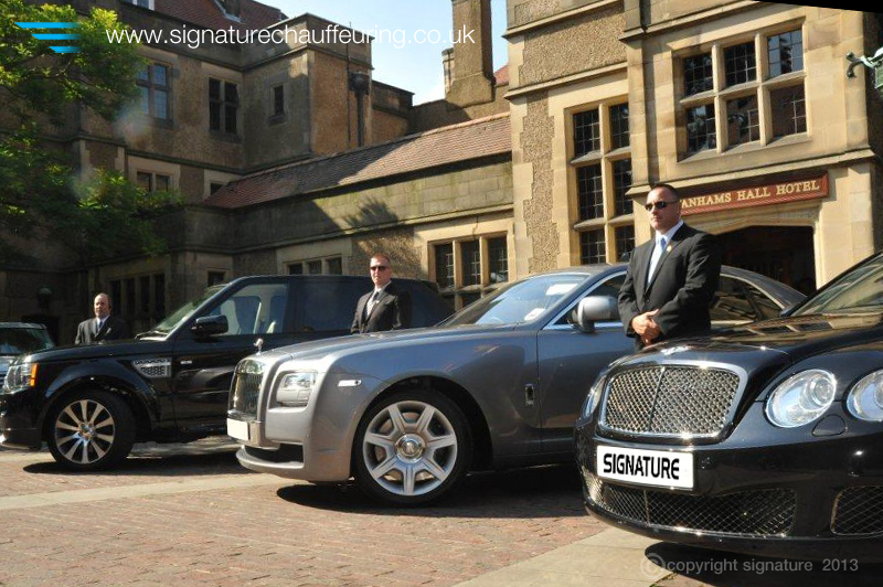 Signature Chauffeurs and fleet