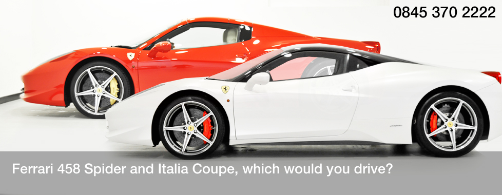 Signature-car-hire-ferrari-458-spider-and-italia-coupe-phone-number
