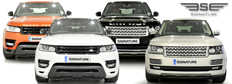 Signature-Range-Rovers
