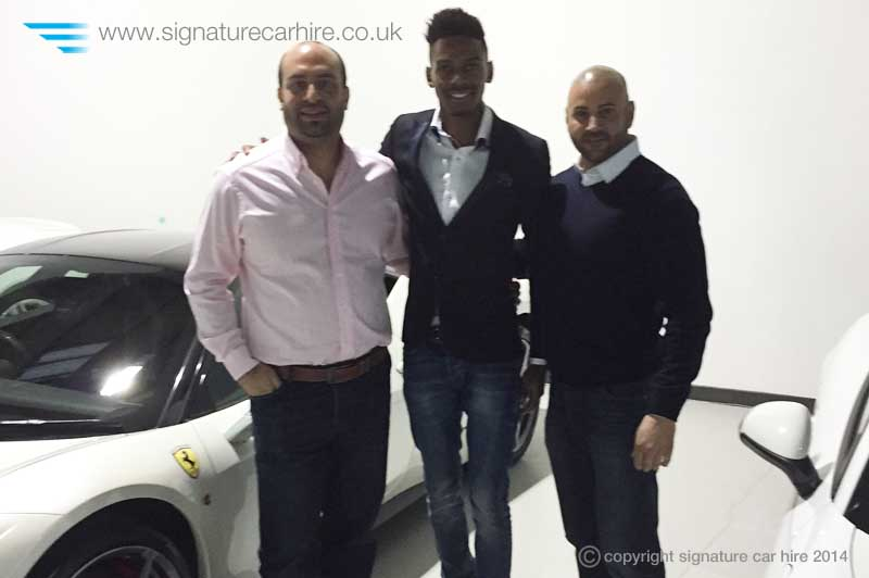 signature-car-hire-footballer-Nialle-Rodney-Grandeur-Living