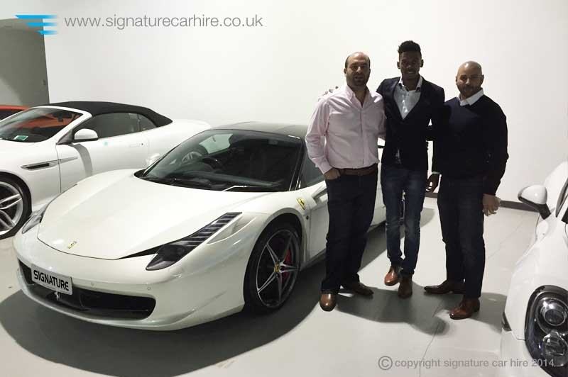 signature-car-hire-footballer-Nialle-Rodney