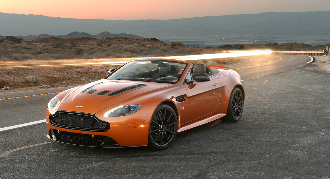 Voted A Future Classic The Aston Martin V12 Vantage S Roadster