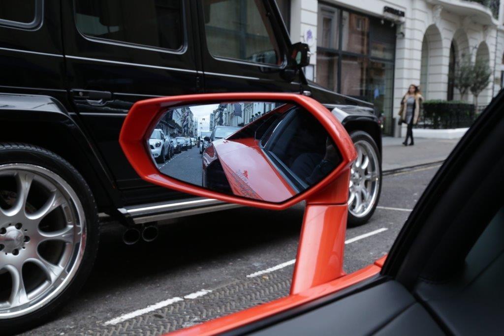 lamborghini wing mirror