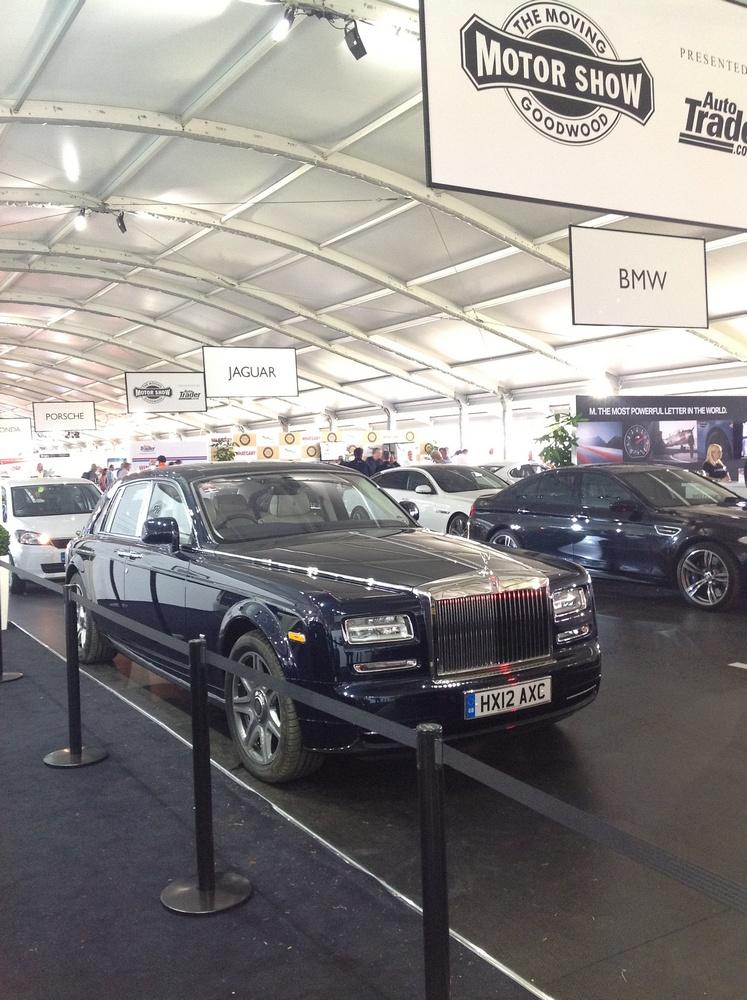 Rolls Royce Phantom Saloon Series II Goodwood 2012