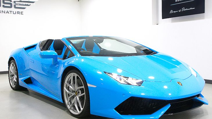 lamborghini-huracan-spyder-front-side-angle