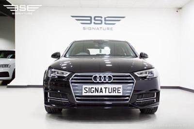 audi-a4-saloon-2.0tds-line-s-tronic-front