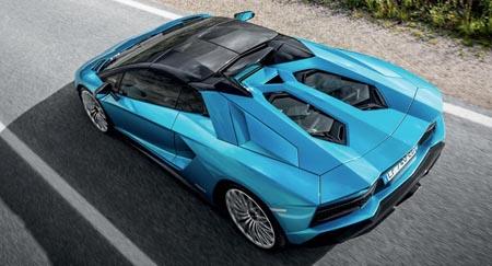 aventador-s-roadster-top