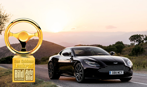 db11-golden-steering-wheel