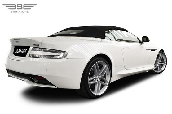Aston Martin DB9 Volante Right Rear View