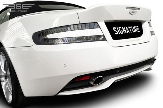 Aston Martin DB9 Volante Rear Close Up View