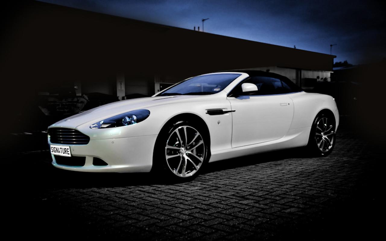 Aston Martin DB9 Volante (White)