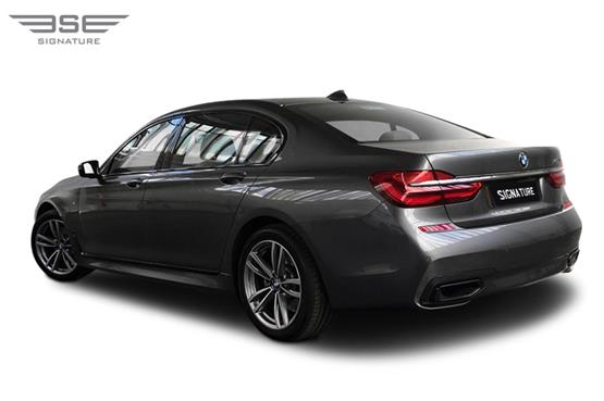 BMW 740i M LWB Rear Left View