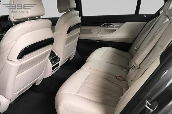 BMW 740i M LWB Rear Seats