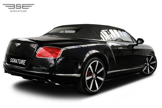 Bentley GTC Right Rear View