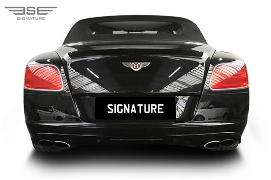 Bentley GTC Rear View