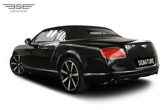 Bentley GTC Left Rear View
