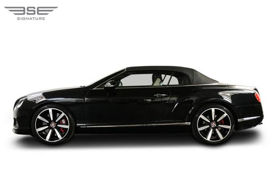 Bentley GTC Left View