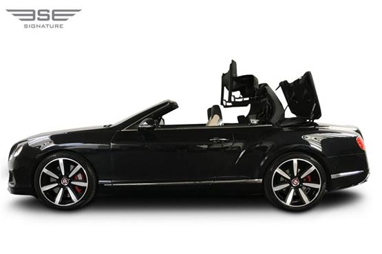 Bentley GTC Roof Folding View